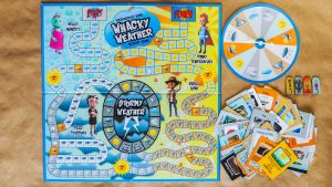 WeatherEgg Kids:  Whacky Weather Board Game
